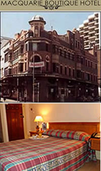 Macquarie Boutique Hotel - Accommodation QLD