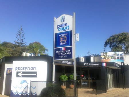 Palm Court Motor Inn - Accommodation QLD