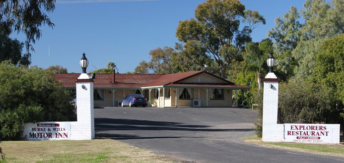 Burke and Wills Motor Inn - Moree - Accommodation QLD