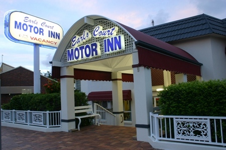 Earls Court Motor Inn - Accommodation QLD