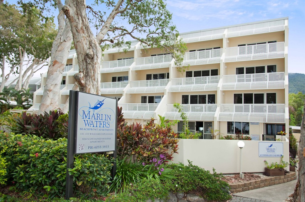 Marlin Waters Beachfront Apartments - Accommodation QLD