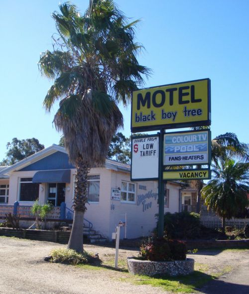 Blackboy Tree Motel - Accommodation QLD
