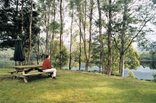 Tullah Lakeside Chalet - Accommodation QLD