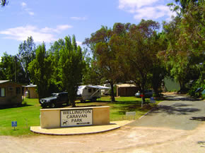 Wellington Caravan Park - Accommodation QLD