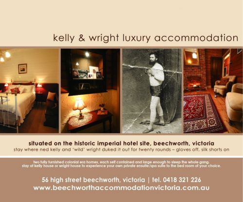 Beechworth Accommodation Victoria - Accommodation QLD
