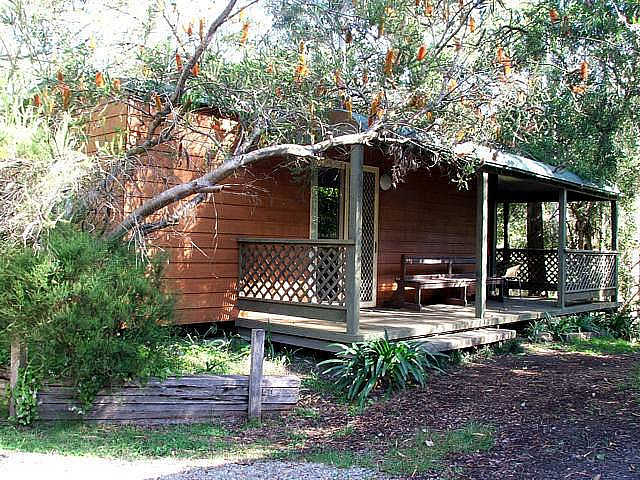 Jervis Bay Cabins  Hidden Creek Real Camping - Accommodation QLD