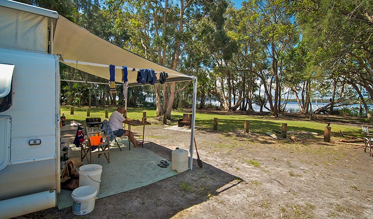 Dees Corner campground - Accommodation QLD