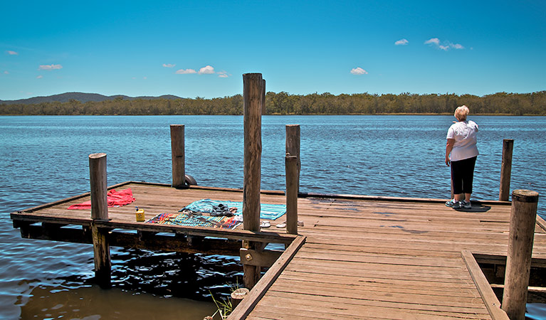 Korsmans Landing campground - Accommodation QLD