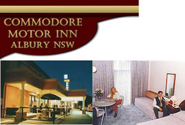 Commodore Motor Inn - Accommodation QLD