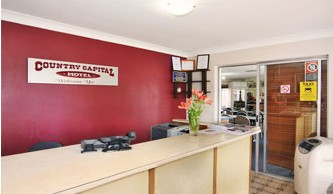 Country Capital Motel - Accommodation QLD