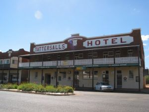 Tattersalls Hotel Baradine - Accommodation QLD
