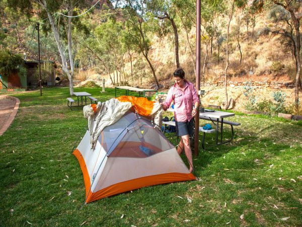 Standley Chasm Angkerle Camping - Accommodation QLD