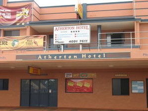 Atherton Hotel - Accommodation QLD