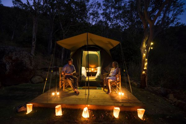 Keswick Island Camping and Glamping - Accommodation QLD