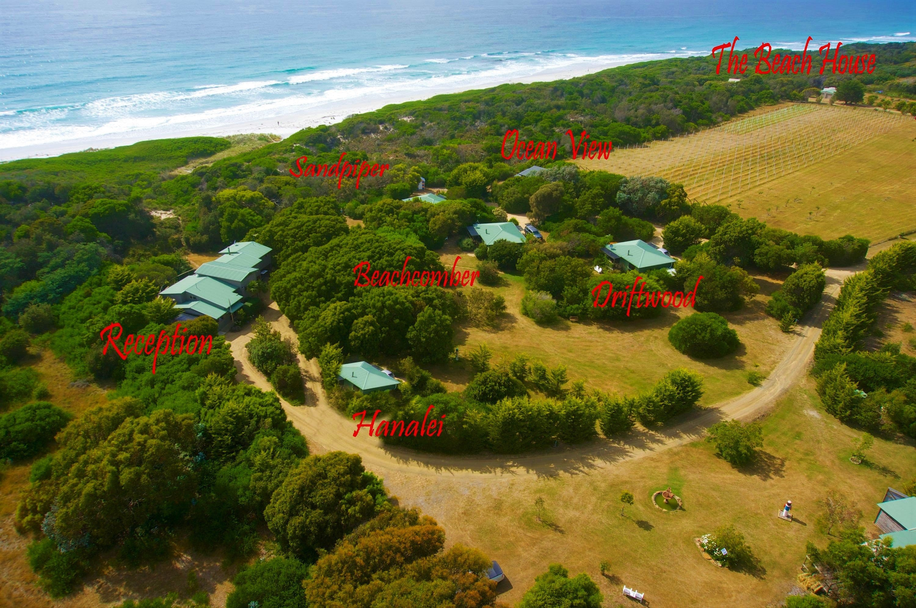 Sandpiper Ocean Cottages - Accommodation QLD