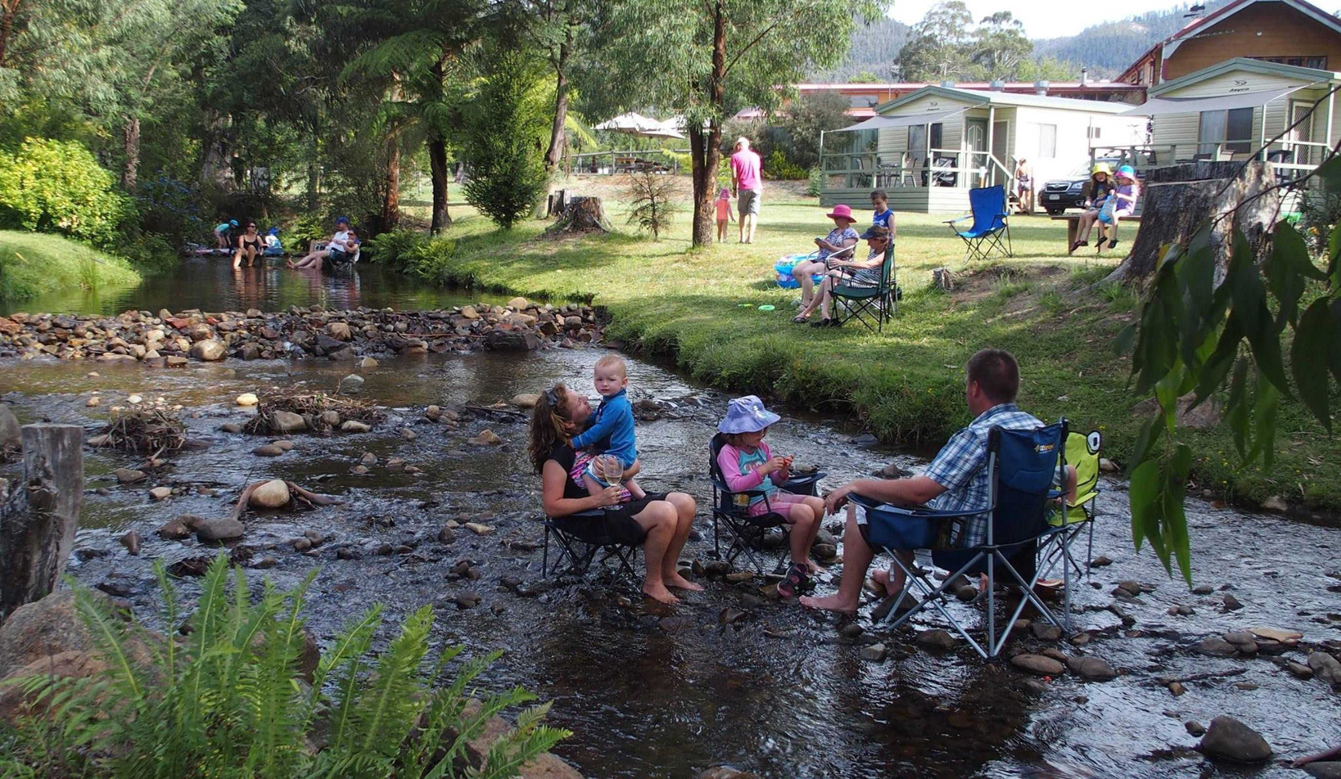 Marysville Caravan and Holiday Park - Accommodation QLD