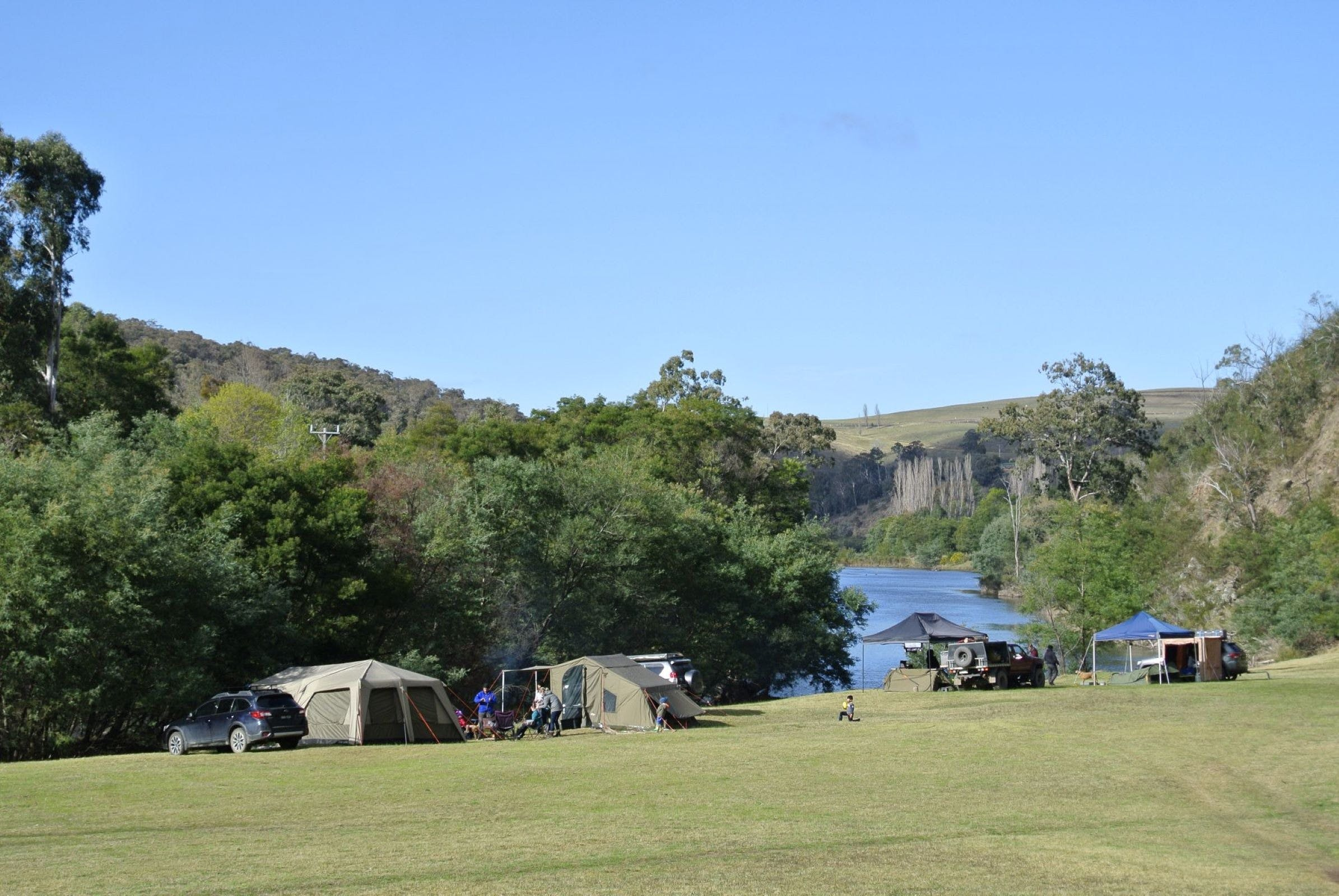 Montana on the Macalister Campground  Caravan Park - Accommodation QLD