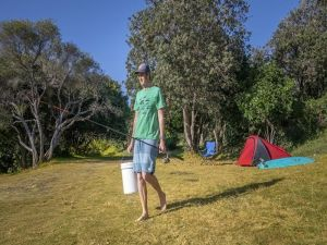 Racecourse campground - Accommodation QLD