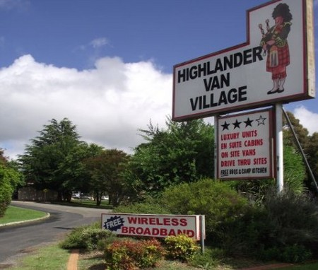 Highlander Van Village - Accommodation QLD