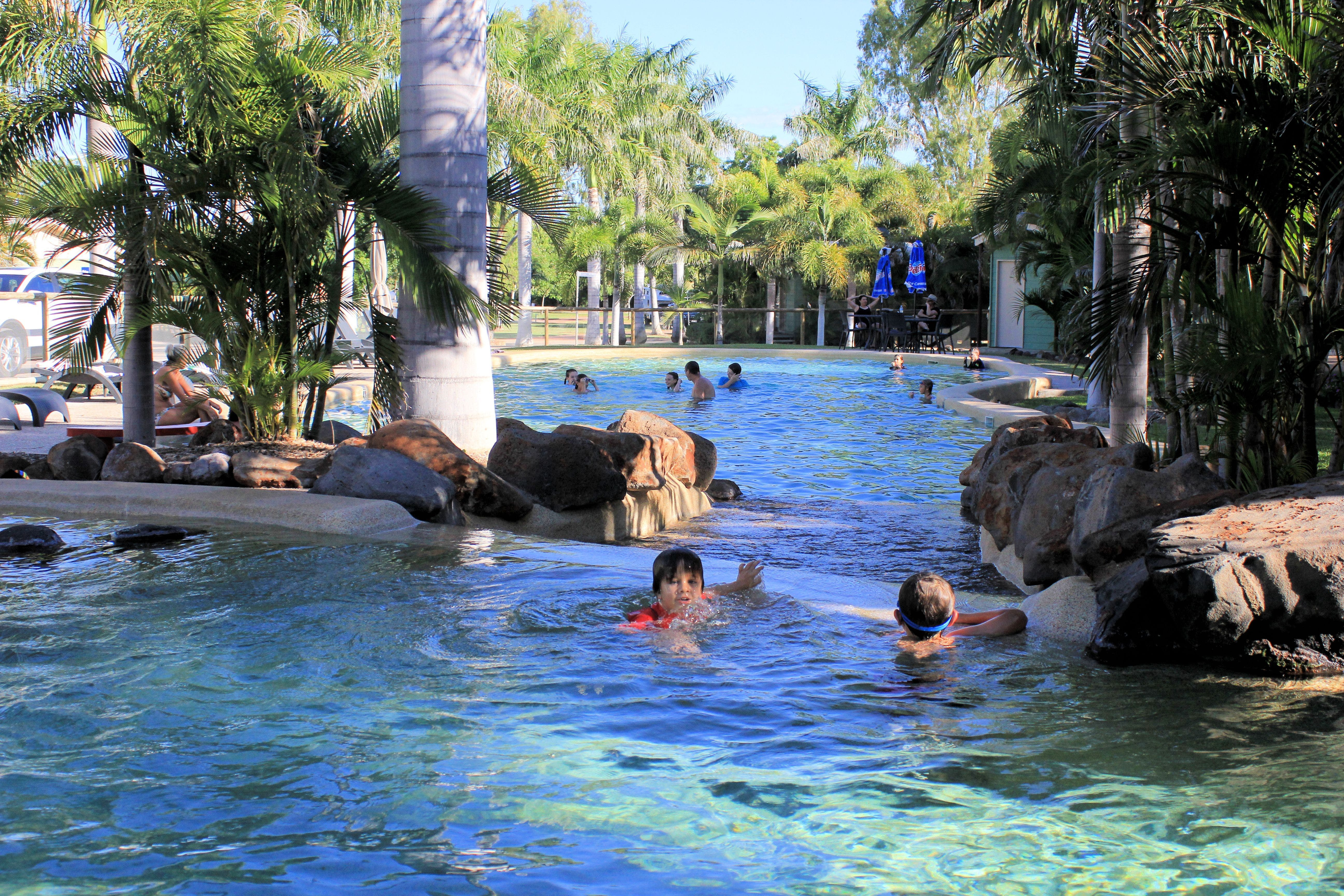 Big4 Aussie Outback Oasis Holiday Park - Accommodation QLD