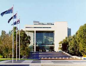 High Court of Australia Parkes Place - Accommodation QLD