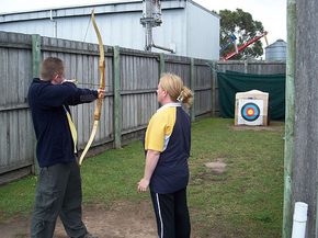 Bairnsdale Archery Mini Golf  Games Park - Accommodation QLD