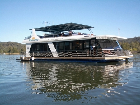 Able Hawkesbury River Houseboats - Accommodation QLD