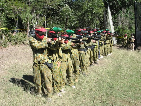 Top Gun Paintball Park - Accommodation QLD