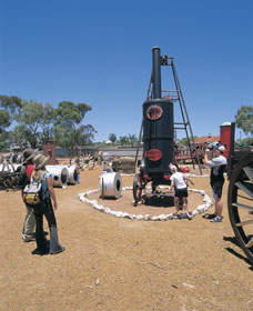 Ben Prior's Open Air Museum - Accommodation QLD