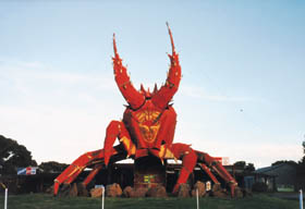 The Big Lobster - Accommodation QLD
