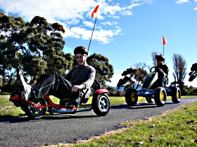 Pedal Buggies Tasmania - Accommodation QLD