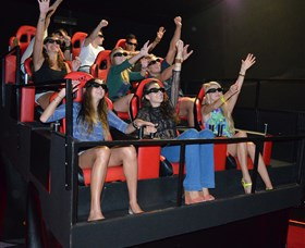 7D Cinema - Virtual Reality - Accommodation QLD