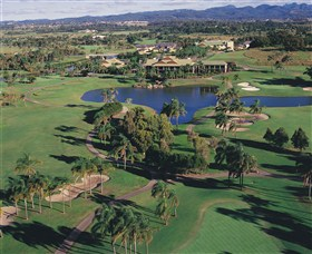Palm Meadows Golf Course - Accommodation QLD