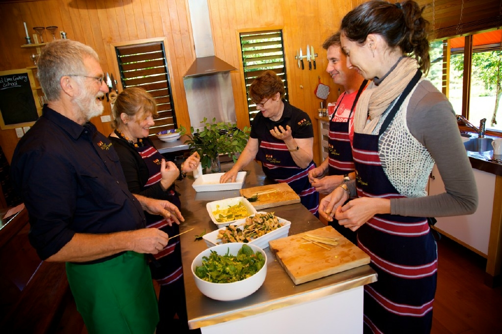 Wild Lime Cooking School - Accommodation QLD