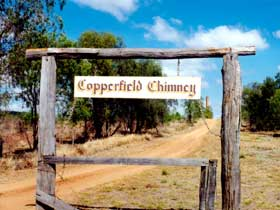 Copperfield Store and Chimney - Accommodation QLD