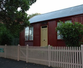 19th Century Portable Iron Houses - Accommodation QLD