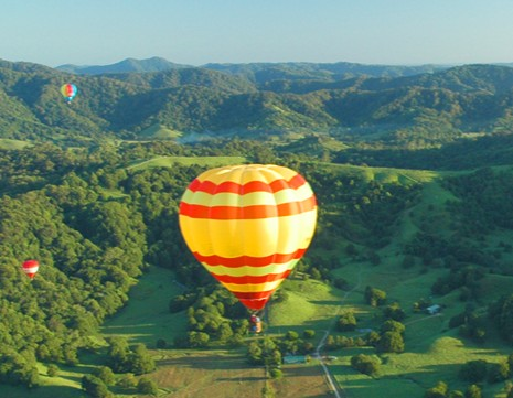 Byron Bay Ballooning - Accommodation QLD