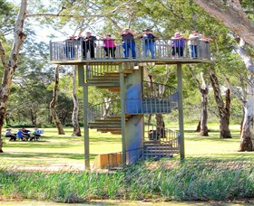 Darling and Murray River Junction and Viewing Tower - Accommodation QLD