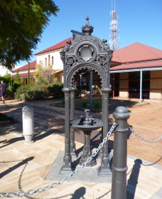 Witcombe Fountain - Accommodation QLD