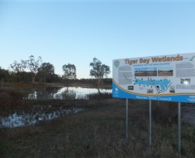 Tiger Bay Wetlands - Accommodation QLD