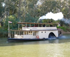 Paddlesteamer Canberra - Accommodation QLD
