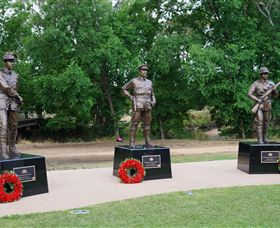 VC Memorial Park - Honouring Our Heroes - Accommodation QLD