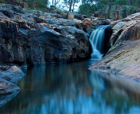 Gooram Falls - Accommodation QLD