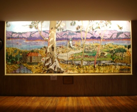 Adaminaby Memorial Hall Stage Curtain - Accommodation QLD