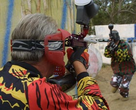 Paintball Skirmish - Accommodation QLD