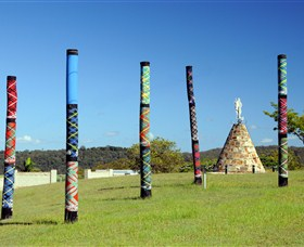 Maclean Tartan Power Poles - Accommodation QLD
