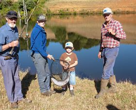 Natone Hills Fly Fishery - Accommodation QLD
