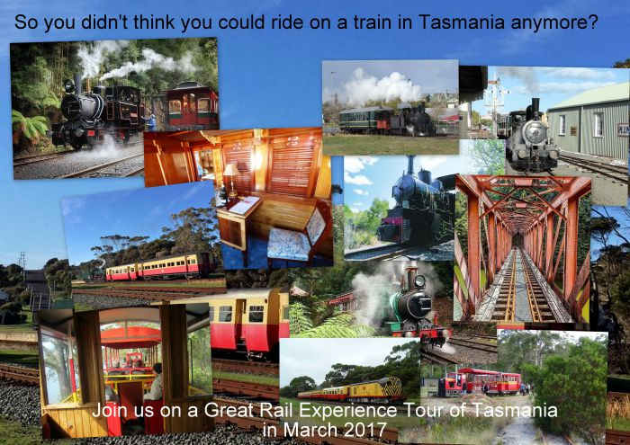 Great Rail Experiences  Tasmania Tour 2017 - Accommodation QLD