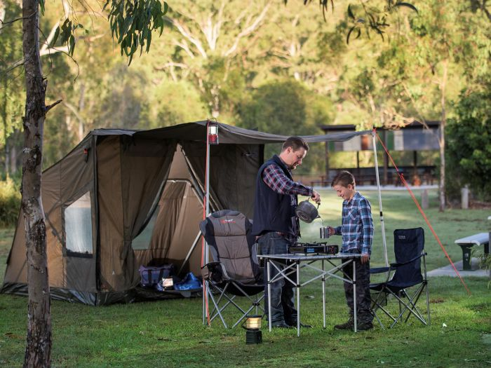 Hardings Paddock Campground - Accommodation QLD