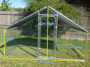 Maryriver Cages For Chickens Dogs Poultry - Accommodation QLD